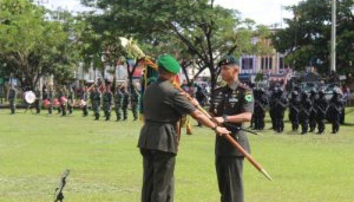 Mayor Inf Eka Ganta Chandra Resmi Jabat Danyonif R..