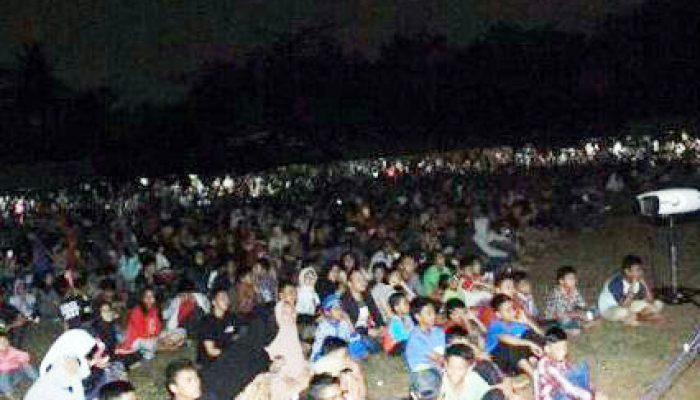 Nobar film PKI di Buper.